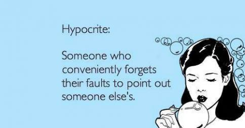 7 Signs of Hypocrites & The People They Target | Narcissist