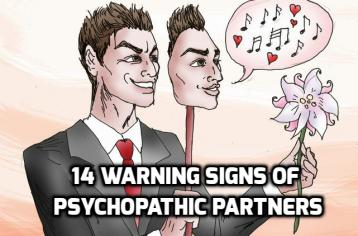 warning signs youre dating a sociopath It can be hard to sink in that mr or mrs perfect that you have been dating is actually a sociopath warning signs but not all i don be signs you're dating.